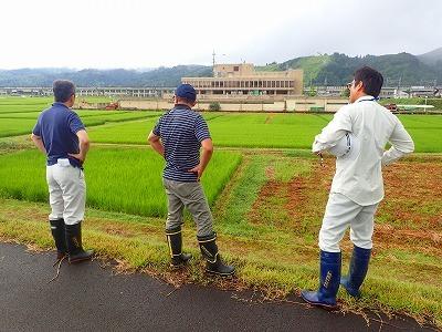 多面的機能支払事業 農地維持活動の現地確認調査が行われました_c0336902_09101445.jpg