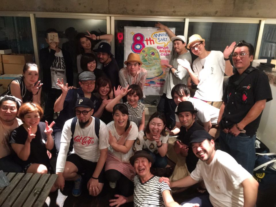 8th Anniversary of Roman Records Cafe_c0077105_00441512.jpg