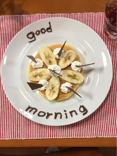 チョコバナナパンケーキ_c0223630_22491452.jpg