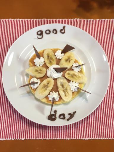 チョコバナナパンケーキ_c0223630_22491594.jpg