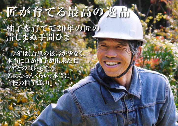 香り高き柚子(ゆず) 令和元年の青柚子は9月中旬より出荷予定!今のうち青唐辛子を購入しておいて下さい_a0254656_16572991.jpg