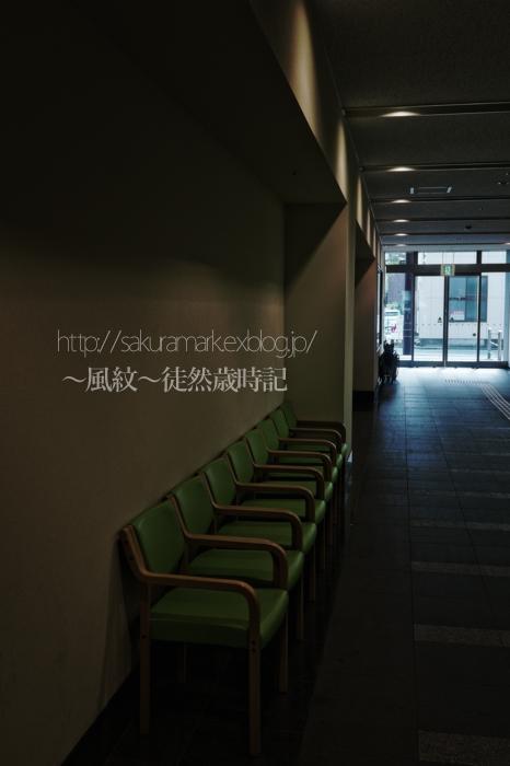待合席 通り抜けの廊下にて。_f0235723_20164099.jpg