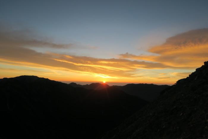 2017.8.11-13 夏の北アルプスハイク3days day3(三俣山荘-高瀬ダム)_b0219778_19465280.jpg