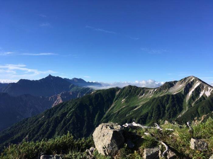 2017.8.11-13 夏の北アルプスハイク3days day3(三俣山荘-高瀬ダム)_b0219778_19505973.jpg