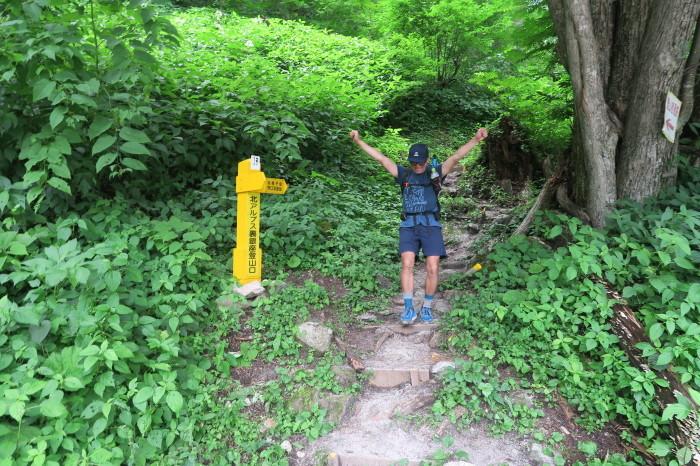 2017.8.11-13 夏の北アルプスハイク3days day3(三俣山荘-高瀬ダム)_b0219778_20125482.jpg