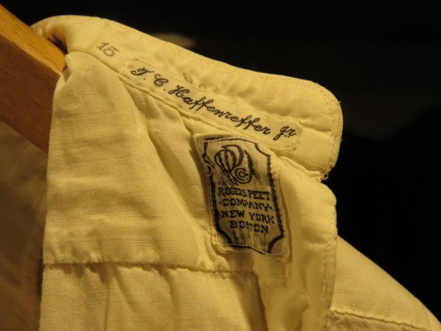 "\""1890\'S TAXIED DRESS SHIRTS\""ってこんなこと。_c0140560_09051762.jpg"