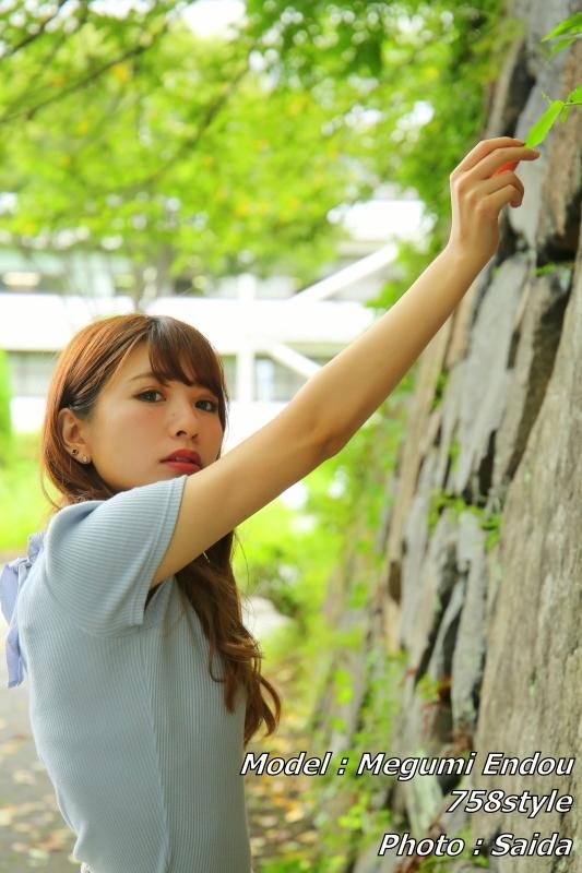 遠藤愛美 ~名古屋城周辺 / 758style撮影会_f0367980_18281422.jpg