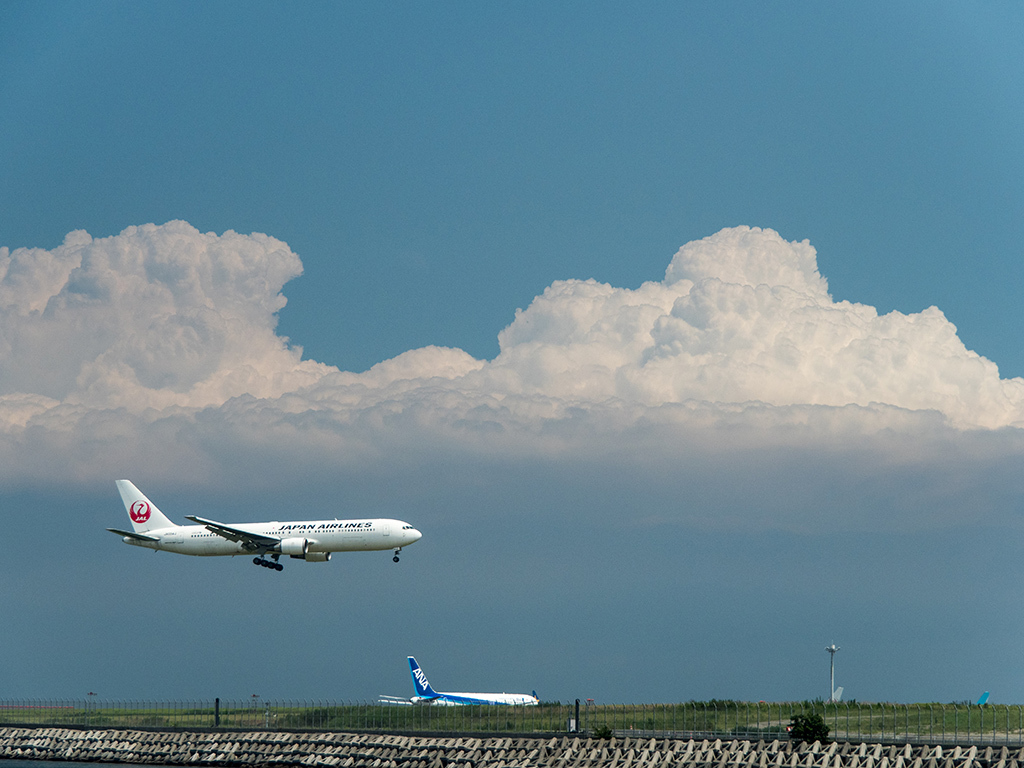 入道雲の下を_d0192516_08201034.jpg
