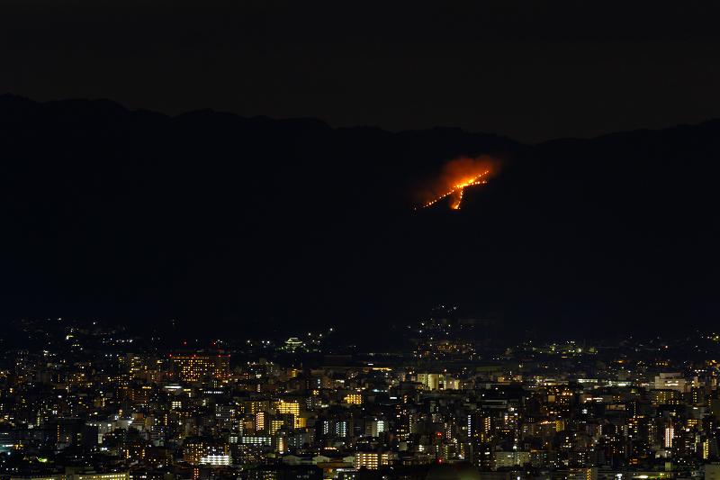 五山の送り火(西山にて) - 花景色-K.W.C. PhotoBlog