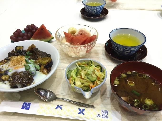 美味しくできた牛肉と茄子の丼_a0125981_16194319.jpg