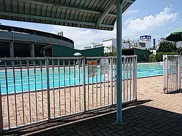 西条市西条運動公園総合プール…2017/8/18_f0231709_22591648.jpg