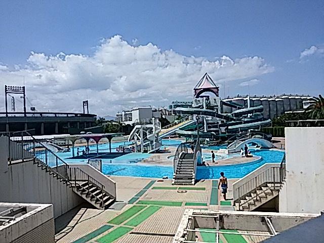 西条市西条運動公園総合プール…2017/8/18_f0231709_23004977.jpg