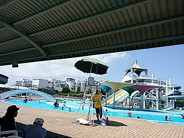 西条市西条運動公園総合プール…2017/8/18_f0231709_23062581.jpg