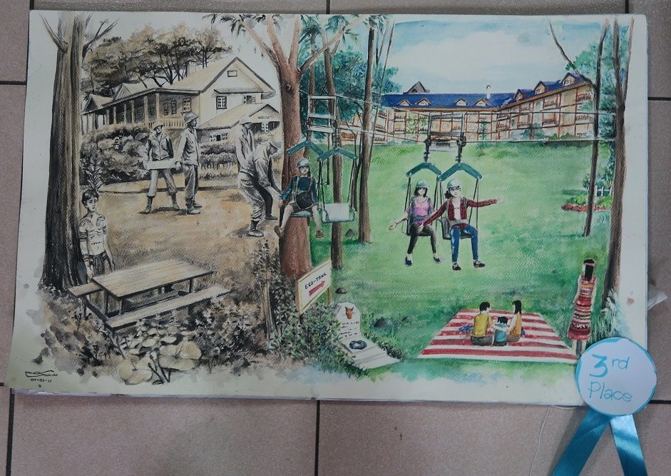 Winners of Baguio Historical/Heritage Site Painting Contest at Tanabata Festival 2017_a0109542_21265349.jpg