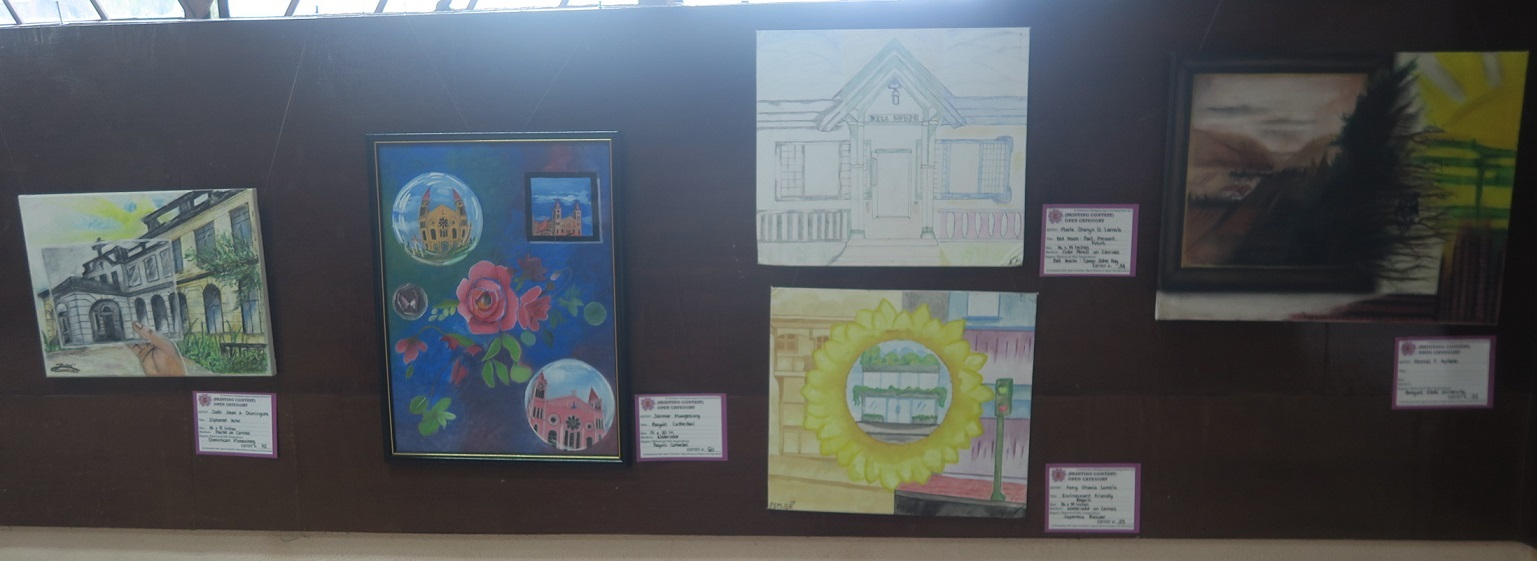 Winners of Baguio Historical/Heritage Site Painting Contest at Tanabata Festival 2017_a0109542_21302993.jpg