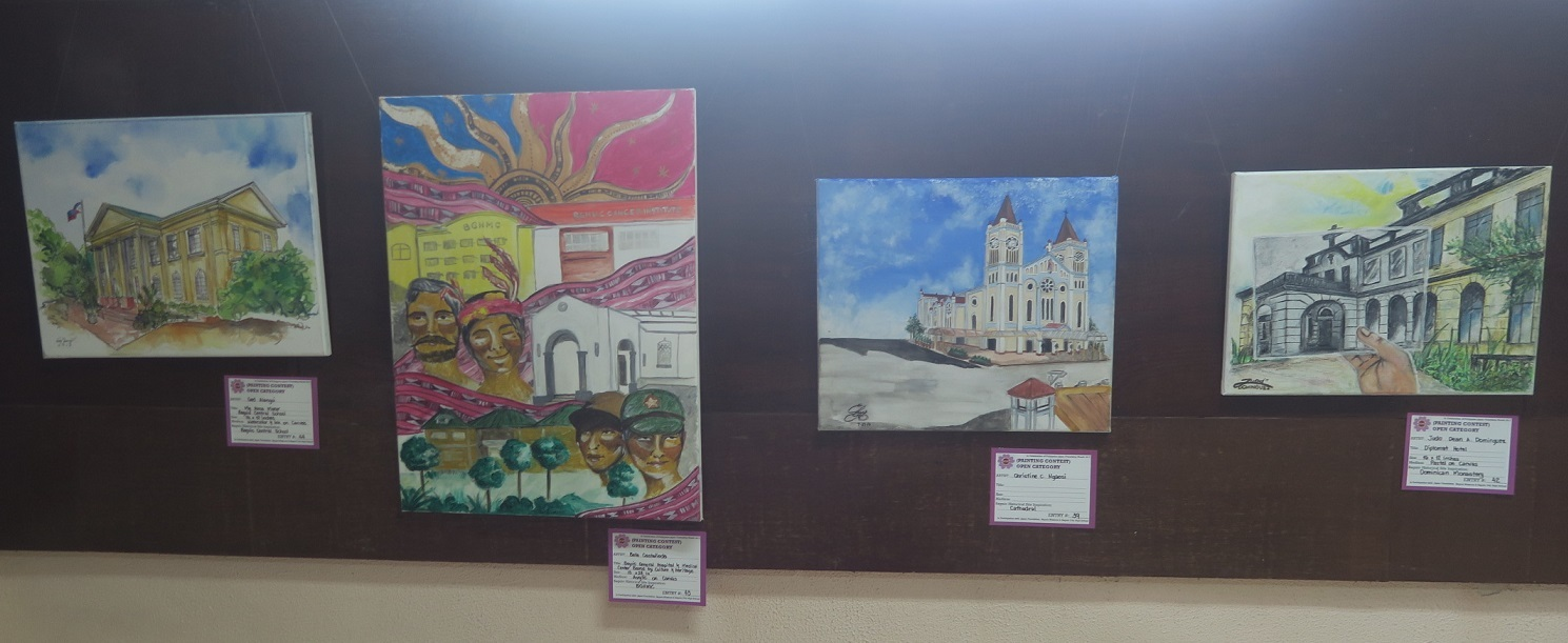 Winners of Baguio Historical/Heritage Site Painting Contest at Tanabata Festival 2017_a0109542_21305262.jpg