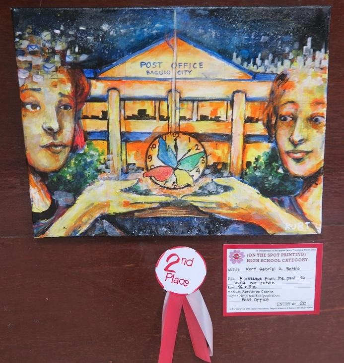 Winners of Baguio Historical/Heritage Site Painting Contest at Tanabata Festival 2017_a0109542_21462701.jpg