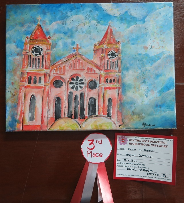 Winners of Baguio Historical/Heritage Site Painting Contest at Tanabata Festival 2017_a0109542_21465146.jpg