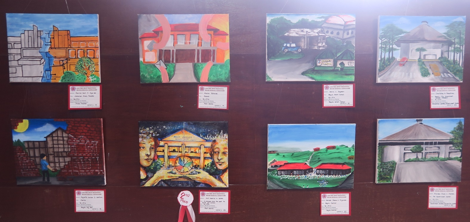 Winners of Baguio Historical/Heritage Site Painting Contest at Tanabata Festival 2017_a0109542_21500287.jpg