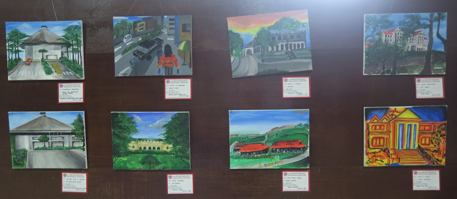 Winners of Baguio Historical/Heritage Site Painting Contest at Tanabata Festival 2017_a0109542_21542365.jpg