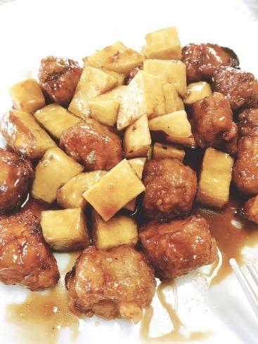 冷たい月餅レッスン、黒酢酢豚レッスン_a0175348_16082165.jpg