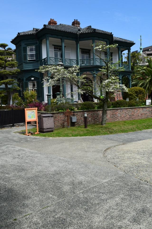 神戸市相楽園の旧ハッサム住宅(明治モダン邸宅探訪)_f0142606_06253994.jpg