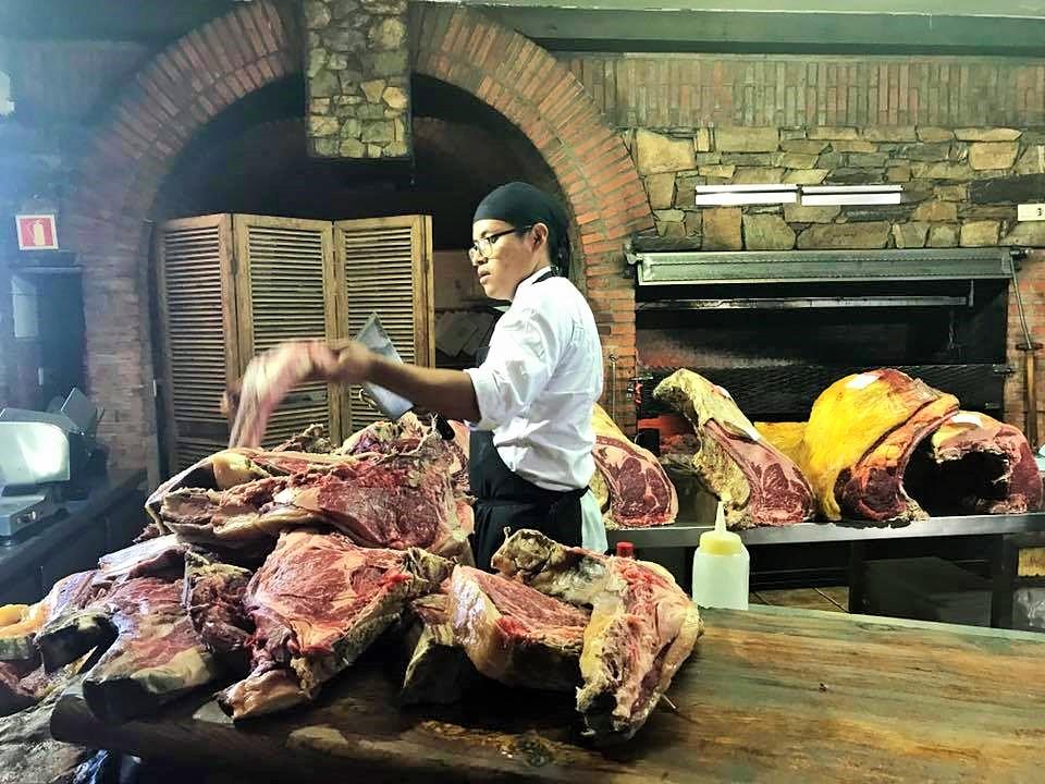 世界一のステーキ Bodega El Capricho ボデガ・エル・カプリチョ_c0213220_885321.jpg