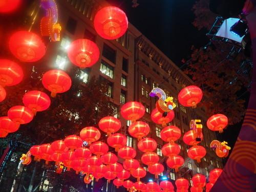 シドニーの名所が真っ赤に染まる、チャイニーズニューイヤー_c0351060_14052587.jpg