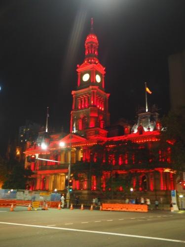 シドニーの名所が真っ赤に染まる、チャイニーズニューイヤー_c0351060_14150390.jpg