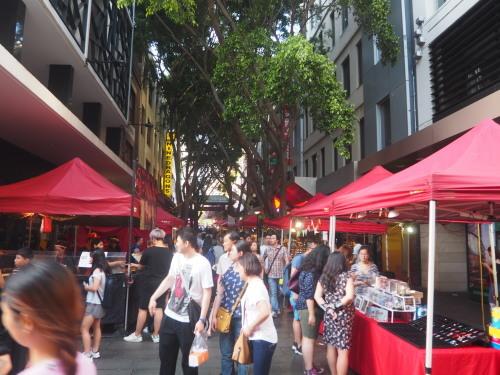 シドニーの名所が真っ赤に染まる、チャイニーズニューイヤー_c0351060_22190736.jpg