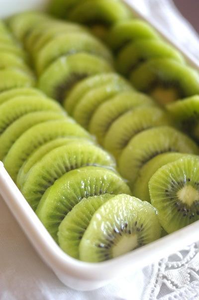 キウイフルーツの蜂蜜漬け_d0327373_08560037.jpg