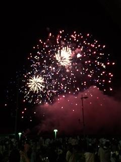 やっぱ ここの花火が一番好き~♪ in 和歌山マリーナシティ_e0123286_19261791.jpg