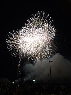 やっぱ ここの花火が一番好き~♪ in 和歌山マリーナシティ_e0123286_19272226.jpg
