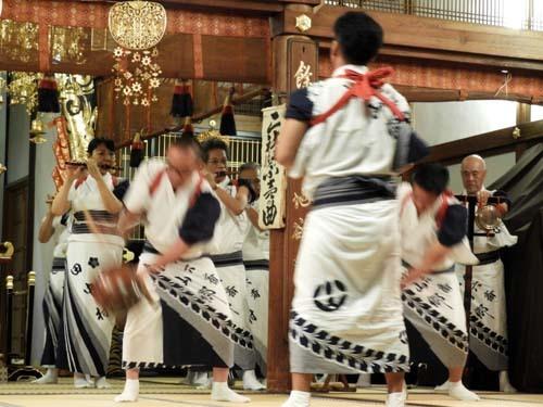 六斎念仏踊り 光福寺_e0048413_23120679.jpg