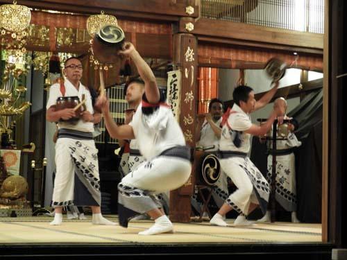 六斎念仏踊り 光福寺_e0048413_23130082.jpg