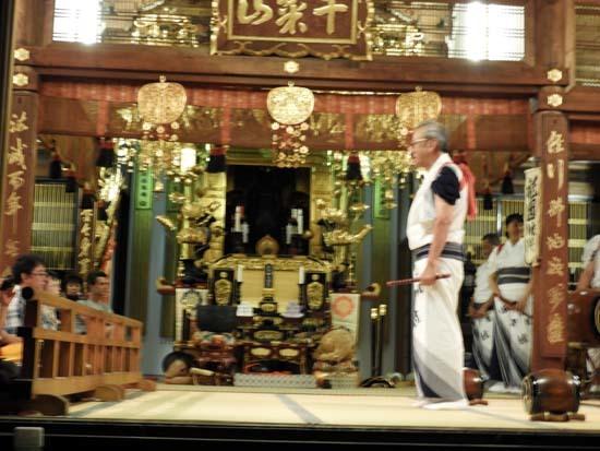 六斎念仏踊り 光福寺_e0048413_23141346.jpg