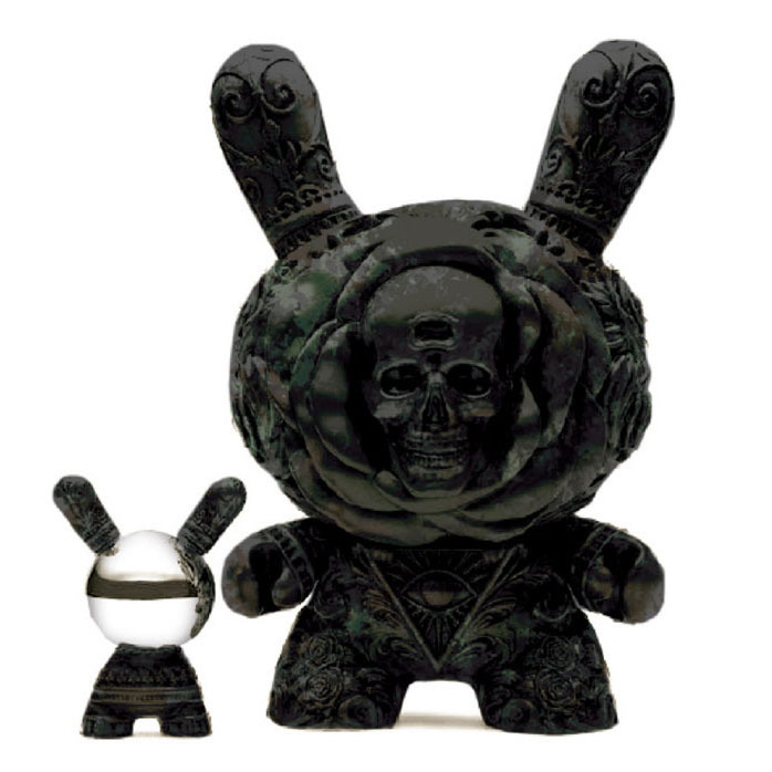 Arcane Divination The Clairvoyant 20inch Dunny- Antique Black by J*RYU_e0118156_23255406.jpg