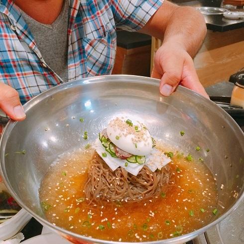 新大久保「韓国広場」→冷麺→パッピンス_b0060363_20152743.jpg