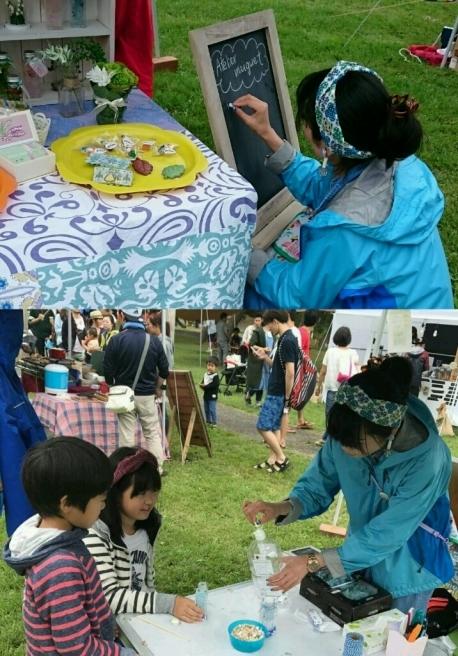 雨降らなかったよ!椿山クラフトキャンプ(笑)_f0201565_22440634.jpg