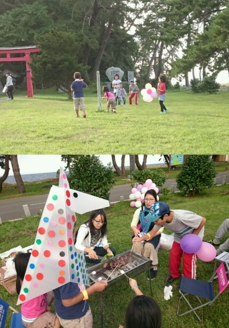 雨降らなかったよ!椿山クラフトキャンプ(笑)_f0201565_22582863.jpg