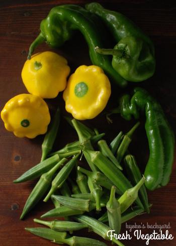 Farmer\'s Marketで買った野菜とピーマン炒め_b0253205_08095337.jpg