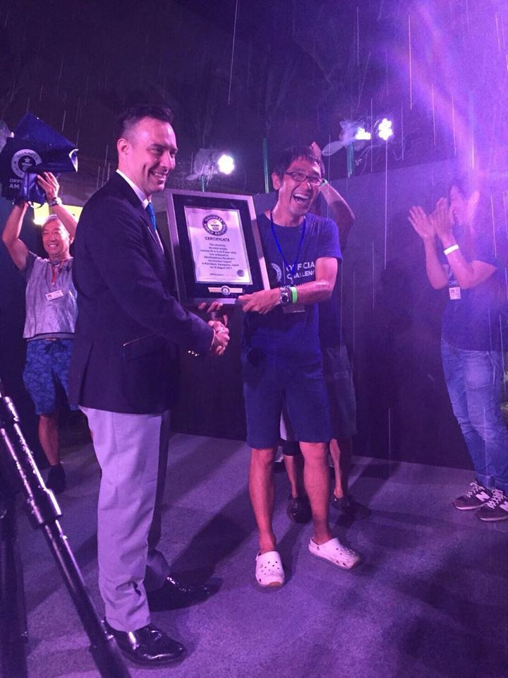 8月19日 七里ガ浜から ギネス世界記録達成致しました♪_d0108933_14461868.jpg