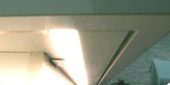 未来型レインボーライト発光タイプ 白波浮かぶ舟形シンク デザインカウンターキッチン + ダウンアップ ドラフト型フード NS kw邸 師崎鳶岬_f0222049_00253222.jpg