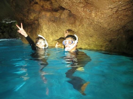 人気の青の洞窟シュノーケル☆_a0156273_17593988.jpg