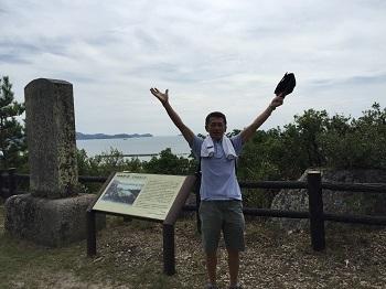 """和歌浦の山 登ったぞぉ~!(^0^)/"""""""" 鏡山&奠供山(てんぐ山)_e0123286_18245328.jpg"""