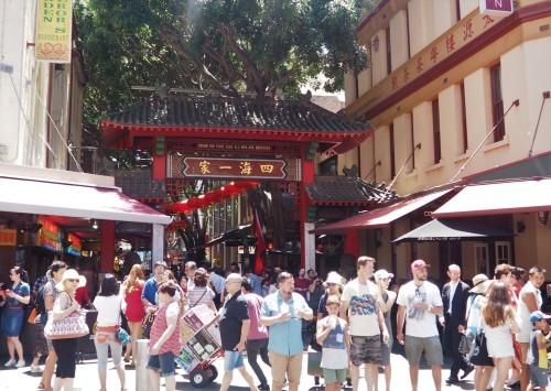 シドニーの名所が真っ赤に染まる、チャイニーズニューイヤー_c0351060_20242742.jpg