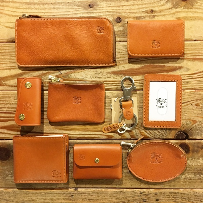【NEW ARRIVAL】 IL BISONTE 革小物_b0121563_15124227.jpeg