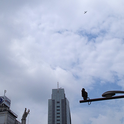 8月 22日(火)の109前交差点_b0056983_12010159.jpg