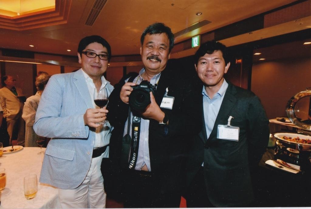 ニコン100周年記念パーティーにて_f0050534_17011336.jpg