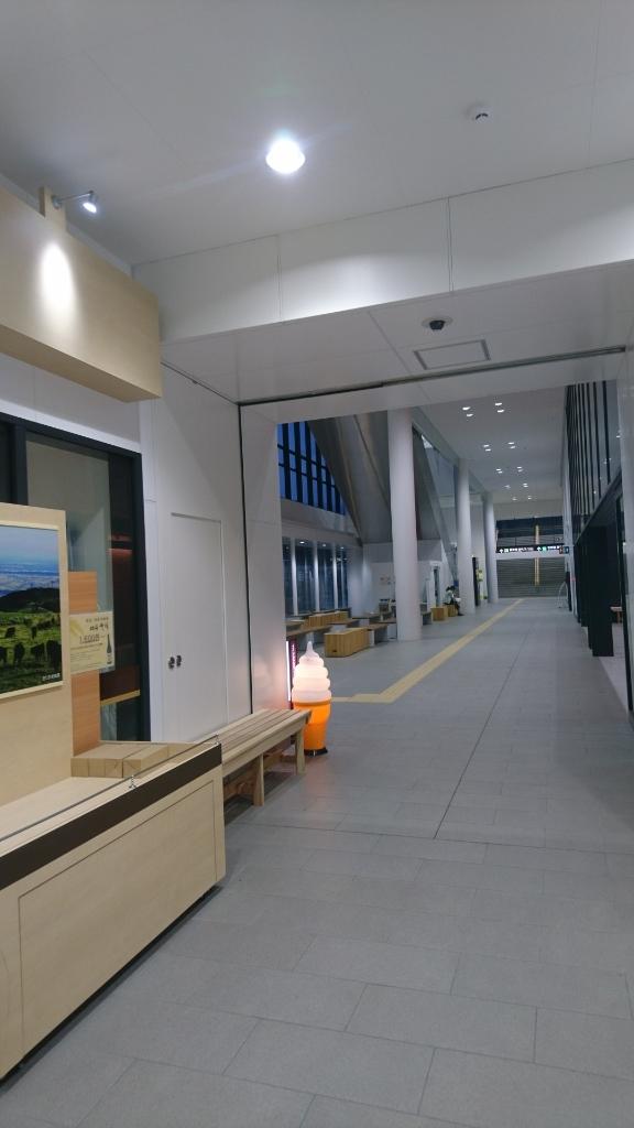 新函館北斗駅のおがーるにセラピア製品納品_b0106766_21193486.jpg